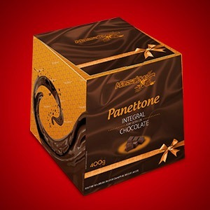 Panettone Integral com Chocolate